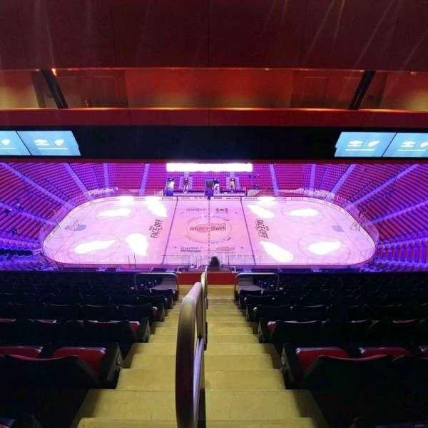 Little Caesars Arena, vak: 211, rij: 12, stoel: 21
