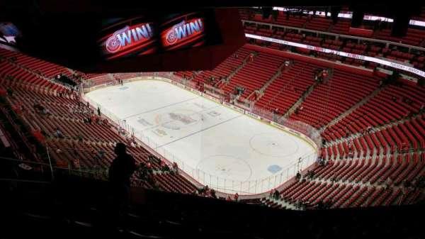Little Caesars Arena, vak: 207, rij: 11