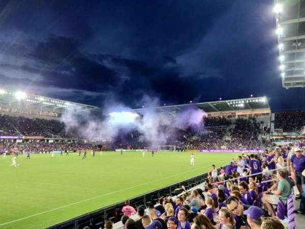 Orlando City Stadium, vak: 36, rij: F, stoel: 21