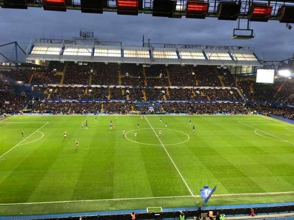 Stamford Bridge, vak: West Stand Upper 5, rij: 2, stoel: 134
