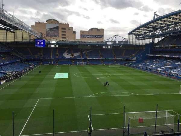 Stamford Bridge, vak: Matthew Harding Upper 13, rij: G, stoel: 109