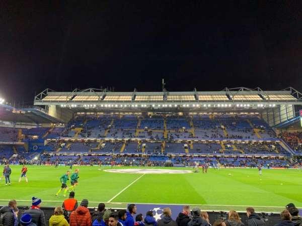 Stamford Bridge, vak: West Stand Lower 4, rij: 7, stoel: 101