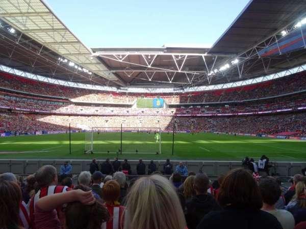 Wembley Stadium, vak: 133, rij: 9, stoel: 314