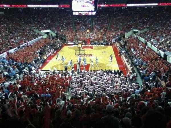 PNC Arena, vak: 111, rij: YY, stoel: 10