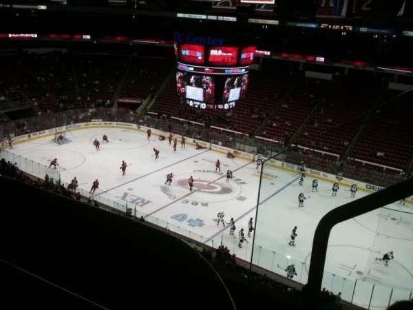 PNC Arena, vak: 302, rij: C, stoel: 2