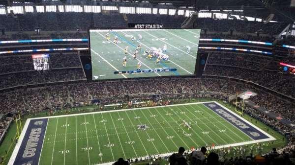 AT&T Stadium, vak: 415, rij: 29, stoel: 2