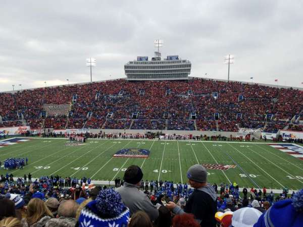 Liberty Bowl Memorial Stadium, vak: 119, rij: 50, stoel: 27