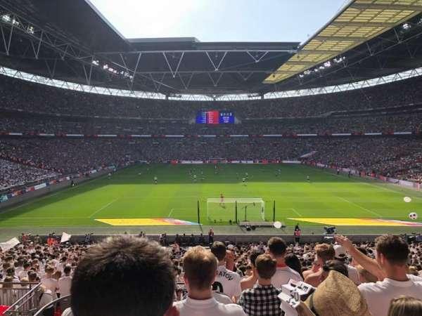 Wembley Stadium, vak: 112, rij: 38, stoel: 8