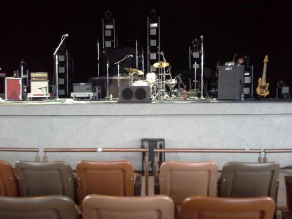 Bethel Woods Center for the Arts, vak: 01, rij: C, stoel: 5