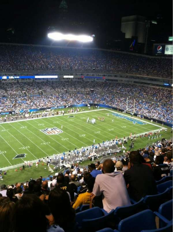 Bank of America Stadium, vak: 544