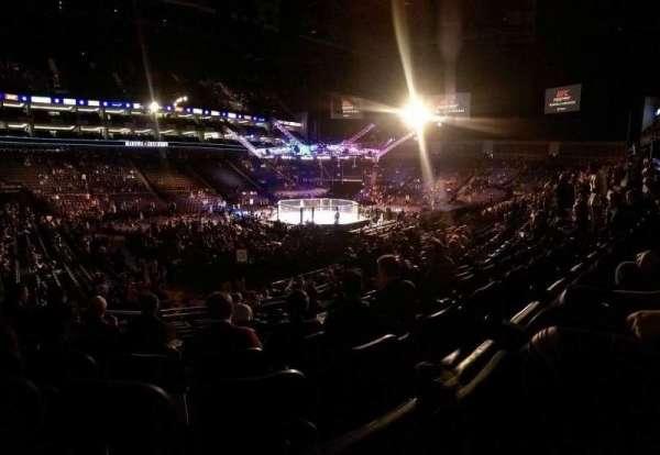 The O2 Arena, vak: 110, rij: S, stoel: 278
