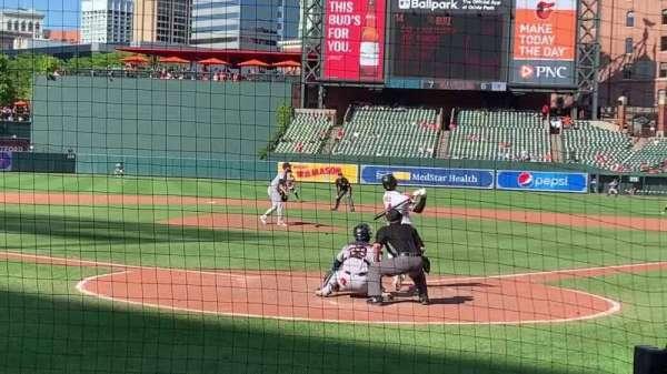 Oriole Park at Camden Yards, vak: 40, rij: 4, stoel: 2