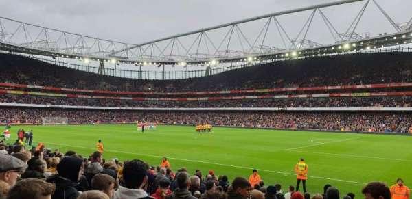 Emirates Stadium, vak: 29, rij: 15, stoel: 918