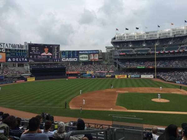 Yankee Stadium, vak: 224, rij: 8, stoel: 20