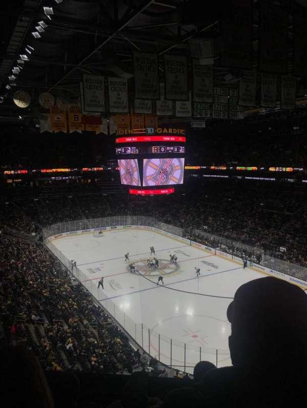 TD Garden, vak: BAL 311, rij: 5, stoel: 9