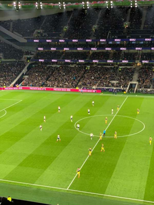 Tottenham Hotspur Stadium, vak: 525, rij: 12, stoel: 805