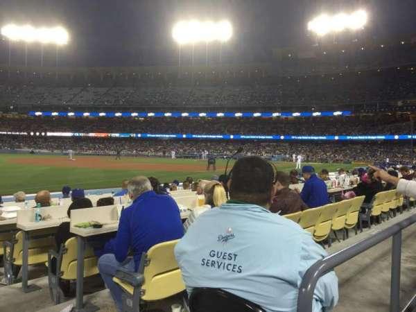 Dodger Stadium, vak: 39FD, rij: A, stoel: 1