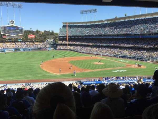 Dodger Stadium, vak: 139LG, rij: S, stoel: 7