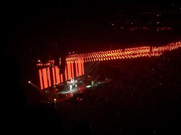 Staples Center, vak: 316, rij: 10, stoel: 10