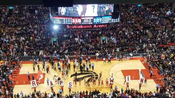 Scotiabank Arena, vak: 309, rij: 18, stoel: 16