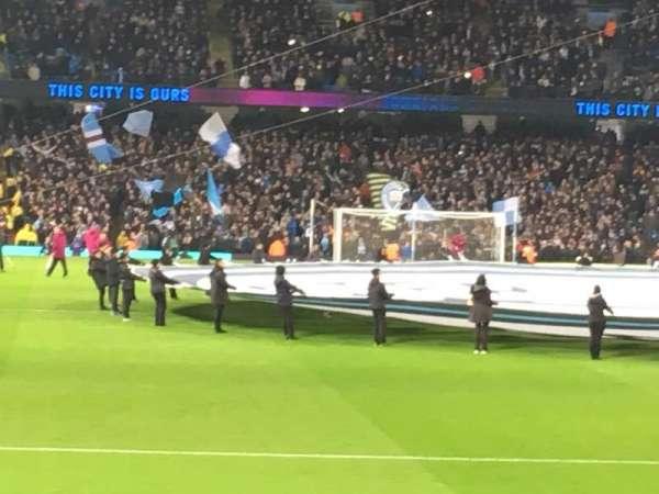 Etihad Stadium (Manchester), vak: 138, rij: M, stoel: 1058