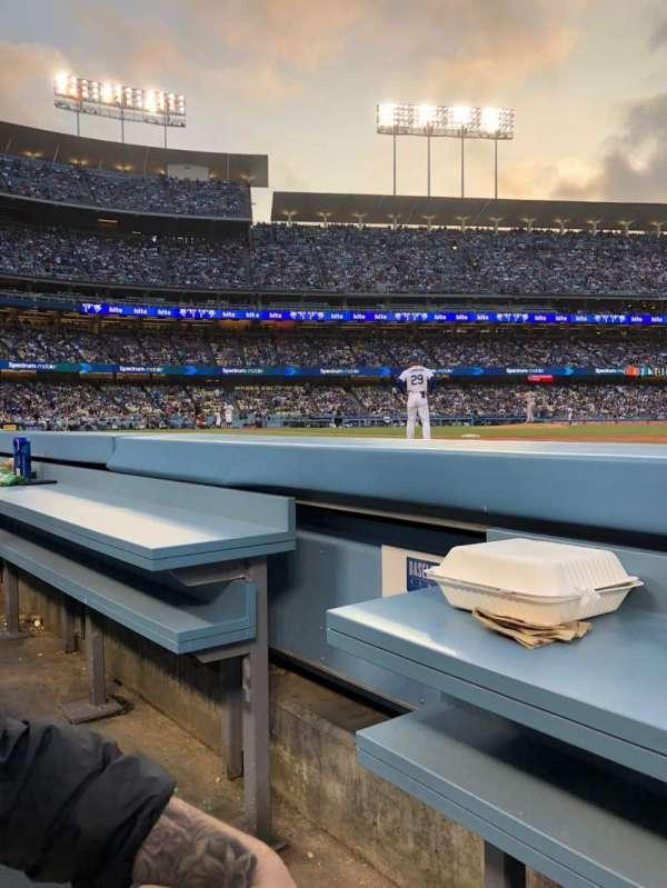 Dodger Stadium, vak: 30BL, rij: 1, stoel: 2
