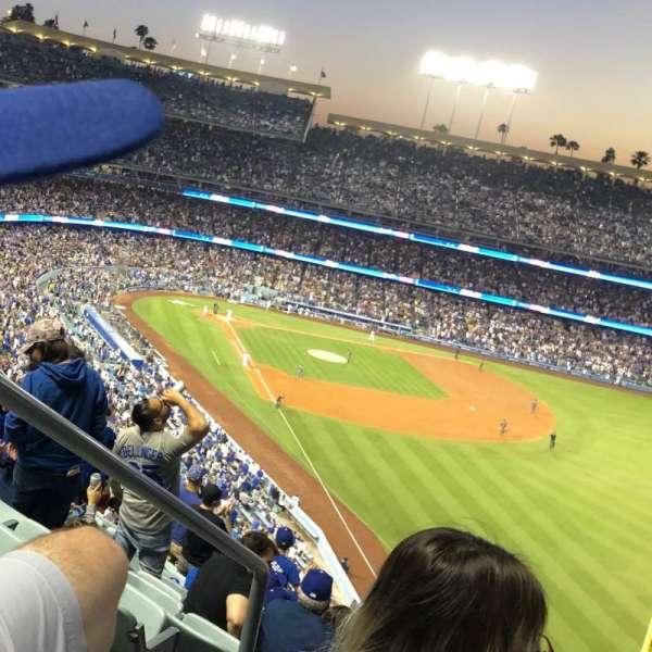 Dodger Stadium, vak: 56RS, rij: T, stoel: 2