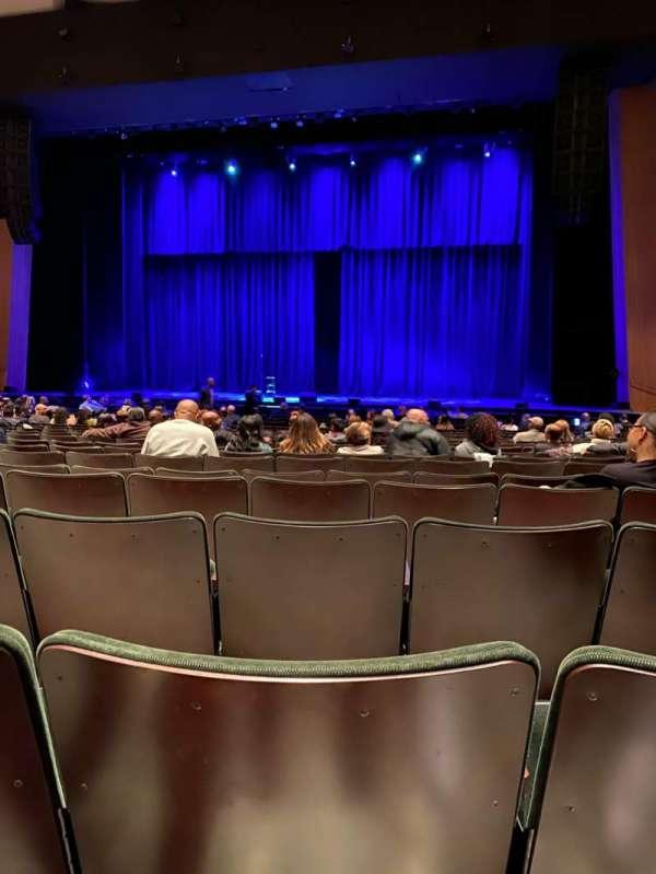 Terrace Theater, vak: ORCH, rij: 15, stoel: 25