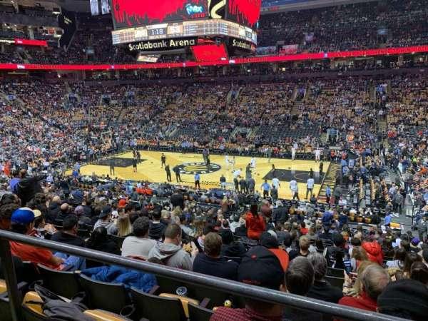 Scotiabank Arena, vak: 118, rij: 24?, stoel: 4?