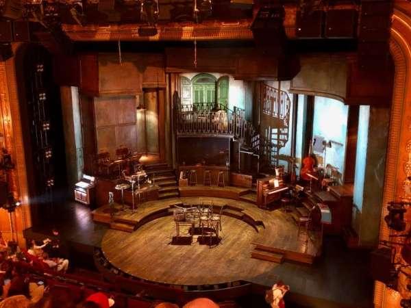 Walter Kerr Theatre, vak: Mezzanine R, rij: G, stoel: 12