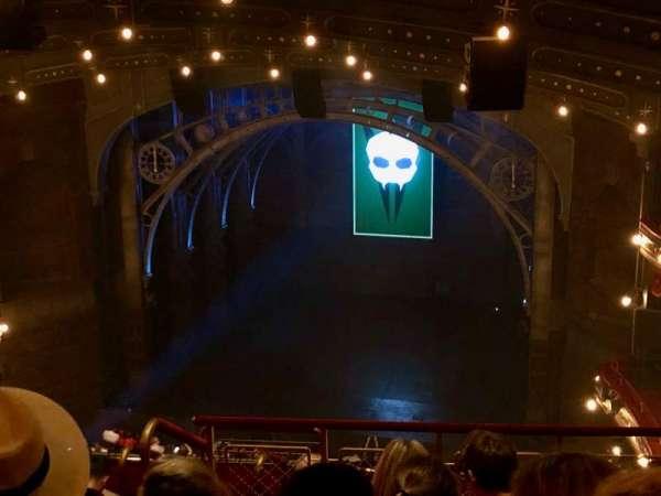 Lyric Theatre, vak: Balcony R, rij: G, stoel: 8