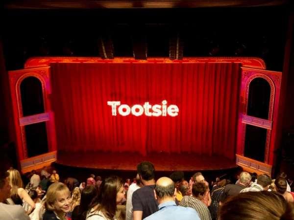 Marquis Theatre, vak: Mezzanine C, rij: H, stoel: 114