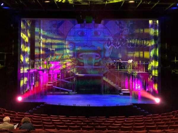 La Jolla Playhouse, vak: Main Floor, rij: O, stoel: 19