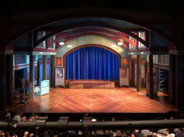 Coca-Cola Stage at Alliance Theatre, vak: Center Balcony, rij: A, stoel: 108