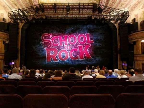 Winter Garden Theatre, vak: Orchestra, rij: Q, stoel: 107
