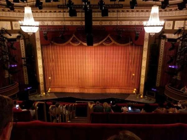 Imperial Theatre, vak: Rear Mezzanine 3, rij: B, stoel: 6