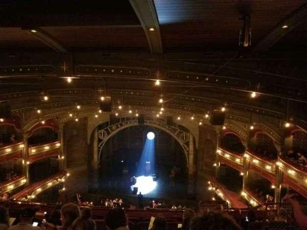 Lyric Theatre, vak: Balcony C, rij: G, stoel: 117
