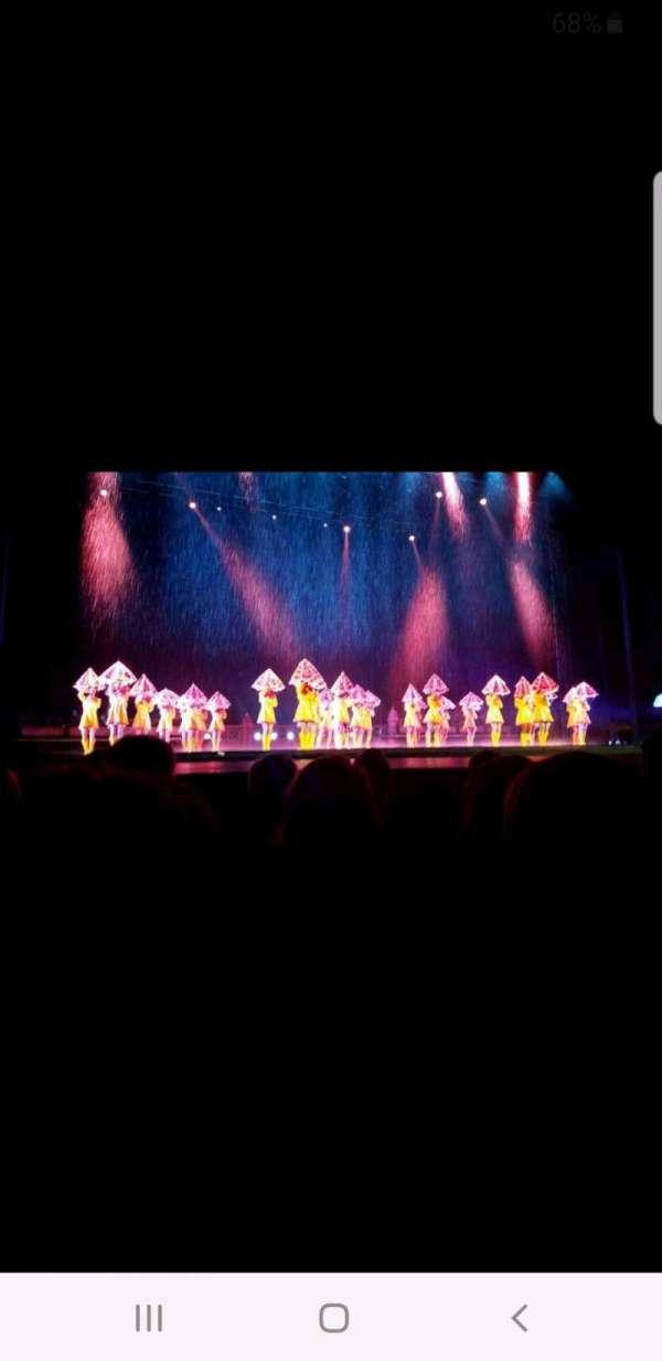 Radio City Music Hall, vak: Orchestra 5, rij: GG, stoel: 505