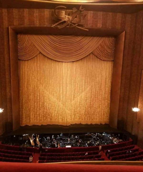 Metropolitan Opera House - Lincoln Center, vak: Balcony, rij: A, stoel: 109