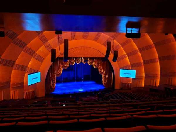 Radio City Music Hall, vak: 2nd Mezzanine 6, rij: H, stoel: 607