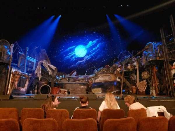 Forrest Theatre, vak: Orchestra C, rij: D, stoel: 105