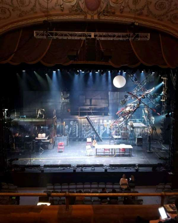 Merriam Theater, vak: Balcony C, rij: D, stoel: 109