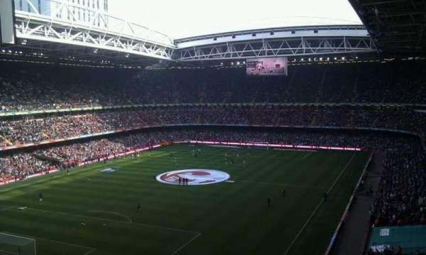 Principality Stadium, vak: U37, rij: 11, stoel: 10