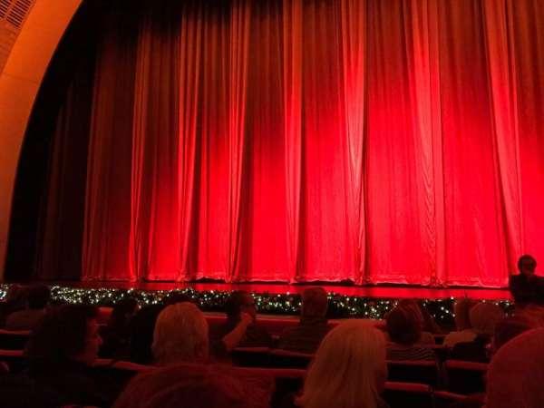 Radio City Music Hall, vak: Orchestra 4, rij: HH, stoel: 401