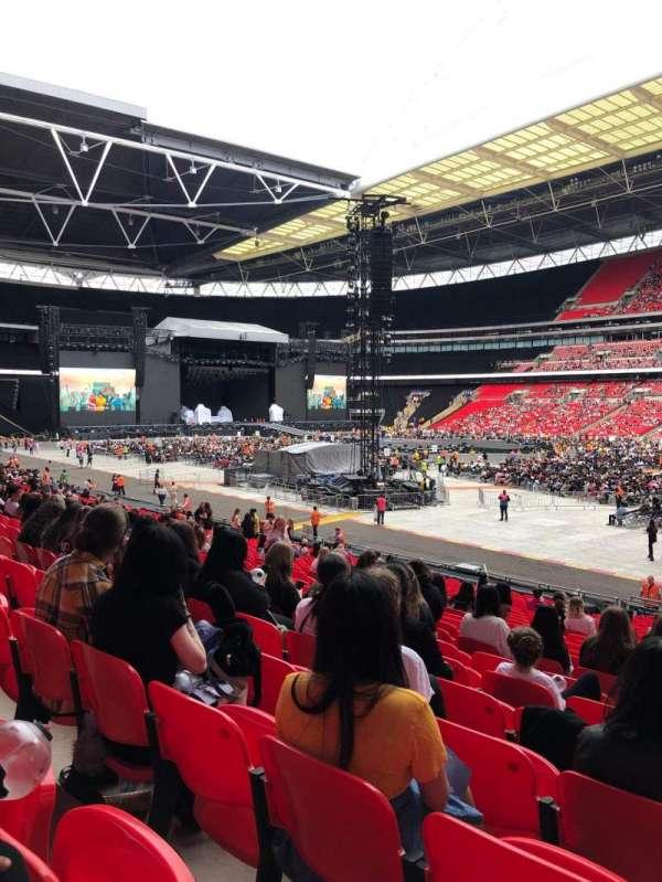 Wembley Stadium, vak: 118, rij: 27, stoel: 202
