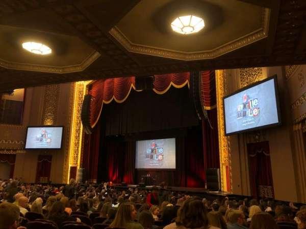 Stifel Theatre, vak: Orchestra Right, rij: Y, stoel: 14