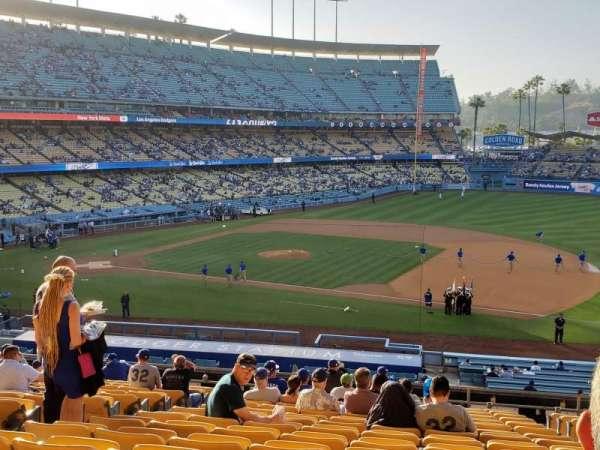 Dodger Stadium, vak: 138LG, rij: R, stoel: 5