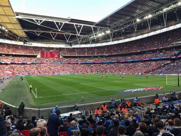 Wembley Stadium, vak: 137, rij: 15, stoel: 90
