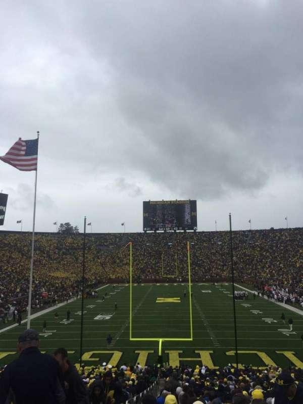 Michigan Stadium, vak: 12, rij: 44, stoel: 13