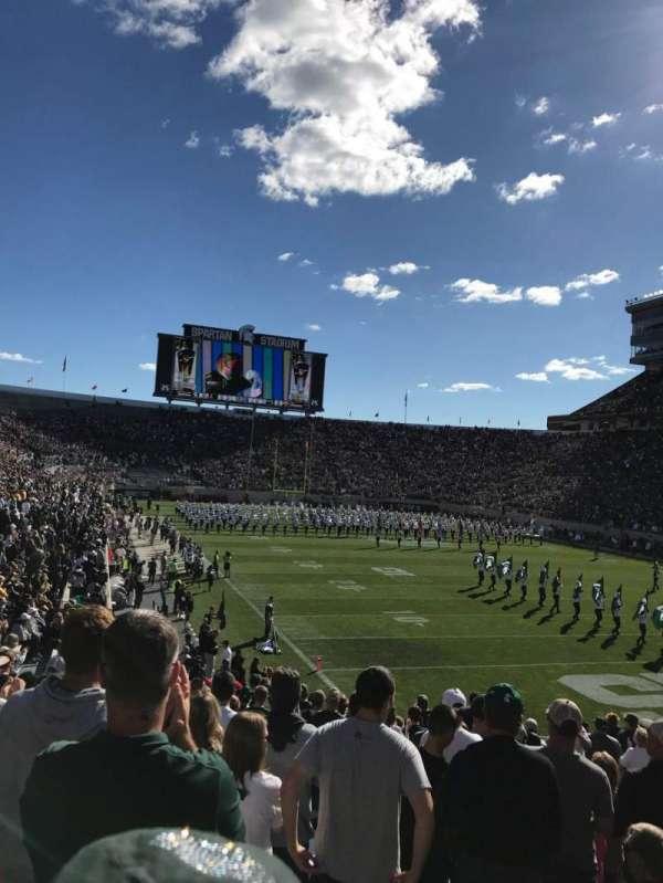 Spartan Stadium, vak: 3, rij: 23, stoel: 43